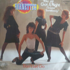 "7"" 1982 KULT IN MINT-! THE HORNETTES You´ve Got A Right"