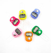 5Finger Ring Digital Tally Counter Tasbeeh Tasbih Number Clicker color at random