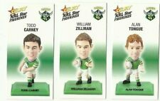 2008 NRL SELECT CANBERRA RAIDERS FIGURINE COLOUR SET 3 CARDS