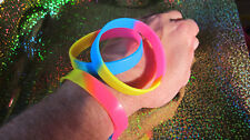 PANSEXUAL - LGBT Pride Silicone Wristband Bracelet