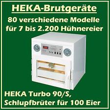 Heka Turbo 90/s - Couveuse D'éclosion en Plastique pour 100 Œufs de Poule