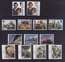 stamps Great Britain four Mnh stamps