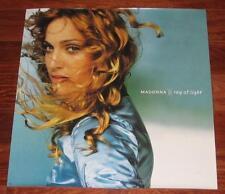 Madonna Rare Ray Of Light Original 1998 Album Cover Promotional Poster 24 x 24