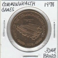LAM(Y) Token - Edmonton, Alberta, Canada - Commonwealth Games - 32 MM Bronze