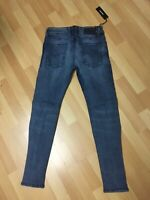 NWD Mens Diesel SLEENKER Stretch Denim 0684QL Blue Slim W27 L29 H5.5 RRP£160
