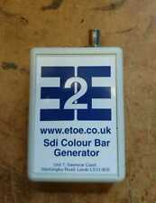 SDI Colour Bar Generator. Battery Powered.
