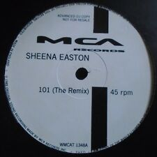 "SHEENA EASTON ~ 101 The Remix ~ 12"" Single PROMO"