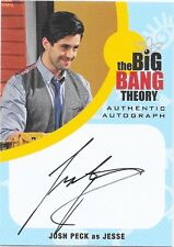 Cryptozoic Big Bang Theory Seasons 6 7 Auto Josh Peck as Jesse JPE1