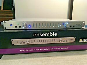 Apogee Ensemble Firewire Audio Interface for Mac. XLNT - Smoke-free Home Studio