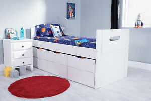Flair Captain Cool Cabin Bed White