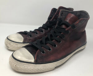 Converse Chuck Taylor - John Varvatos US Size 10.5 Limited Edition Leather Red