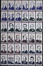 US #2216-19 1986 AMERIPEX Presidents Complete Set of 36 MINT NH Singles