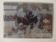 1996-97 Upper Deck Ice #119 Jason Doig Canada World Junior Champion Hockey Card