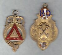 TWO 1930 & 1932 HALL MARKED SILVER MEDALS IN A GOOD COLLECTABLE CONDITION