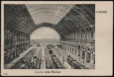 cartolina TORINO interno della stazione