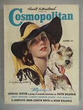 "Cosmopolitan Magazine - October, 1939 ~~ Ernest Hemingway ""Under The Ridge"""