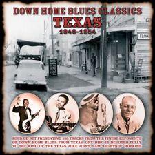 Various Blues( 4CD Album)Texas Blues: Down Home Blues Classics 1946-1954-New