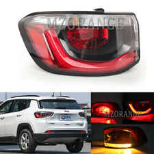 Left Outer Rear Lamp Tail Light For Jeep Compass 2017 18 2019 Brake Stop W/ Blub