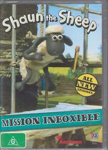 SHAUN THE SHEEP ABC DVD Mission Imboxible Region 4 NEW & SEALED Free Post
