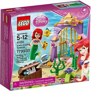LEGO Disney Princess 41050 Ariels Amazing Treasure BN retired minifigure flounde