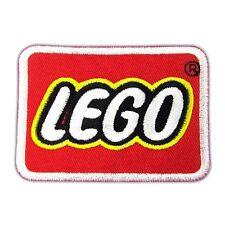 LEGO Banner Logo Emblem Embroidered Iron On Patch Motif DIY Applique Kids Toys