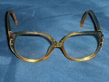 0ae22bda41ab Christian Dior Eyeglass Frames Vintage Retro Gold Color Make into  Sunglasses 226