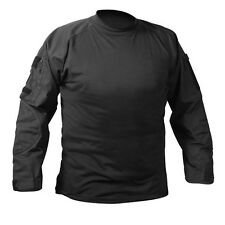 Military Combat Shirt Lightweight Tactical Army No Melt, Drip Resistant Fabric