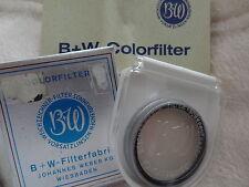 alte B+W Filter Farbfilter B+W 38 KR1,5 1,1x Colorfilter OVP bräunlich getönt