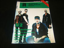 U2 AUSTRALIAN RECORD COLLECTORS MAGAZINE POWDERFINGER CUSTARD