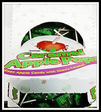 Tootsie Caramel Green Apple Lollipops Candy 1 Box- 48 Count Box 30oz