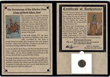 THE HORSEMAN OF THE KHYBER PASS Kings of Shahi Silver Jital