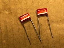 2 NOS Mullard Tropical Fish .022 uf 250v Capacitors Guitar Tone Caps (Qty Avail)