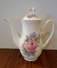 Royal Patrician teapot with Pink Roses & flowers