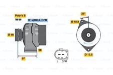 Bosch Remanufactured Alternator 0986042470 4247 - GENUINE - 5 YEAR WARRANTY