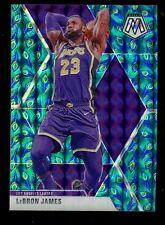 2019-20 Panini Mosaic Peacock Prizm #8 Lebron James Lakers