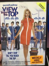 View From The Top ex-rental region 4 DVD (2003 Gwyneth Paltrow comedy movie)