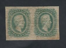 CSA # 11d  PAIR JEFFERSON DAVIS OG/NH SCV $160.00