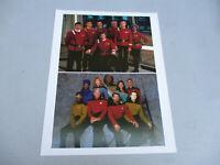Star Trek Enterprise crews Photo TOS TNG Rare Image Data Spock Kirk Picard