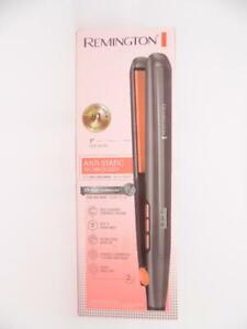 "Remington 1"" Digital Flat Iron with Anti-Static Technology 410°F - Gray -S5500"