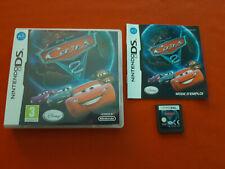 Cars 2 Disney Pixar Nintendo DS Pal Fr Complete