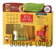 Meiji PREMIUM Amino Collagen powder, 30days (90g) gold Starter kit, New!