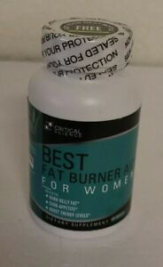 Critical Science Best Fat Burner Aid for Women, 60 Capsules 11/2020 NEW SEALED