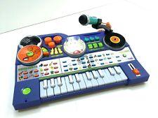 Vtech KidiJamz Dj Music Studio Piano Keyboard Blue Kidi Jamz Missing Mp3 Player