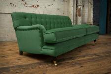 Handmade 3 Seater Soft Velvet Chesterfield Sofa, Reflex Cushion - Other Colours