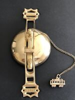 SAN FRANCISCO Cable Car Trolley Bell Door Knocker Solid Brass SFC CO.