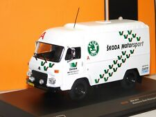 AVIA A21F ASSISTANCE SKODA MOTORSPORT RALLY TEAM SERVICE IXO RAC290 1/43