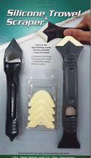 Silicone Trowel Scraper Set Plastic