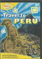 Travel To Peru DVD 2009