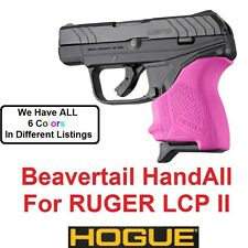 PINK Hogue Rubber HandAll Beavertail Grip Sleeve Ruger LCP II LCP 2 LCPII