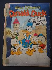 Dell Four Color #189  Donald Duck Carl Barks Art G  1948  Dell Golden Age